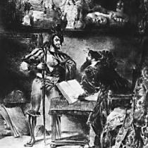 Рисунок И.В.Гёте