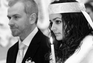 Венчание. Марк Токар и Любовь Якимчук