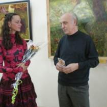 Людмила Гребельная и ее преподаватель Виктор Скубак