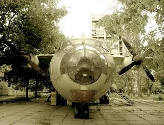 Самолет в парке ВЛКСМ