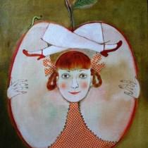 anna-sylyvonchyk яблуко