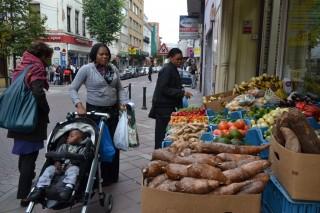 По центральным улицам Брюсселя в поисках капусты