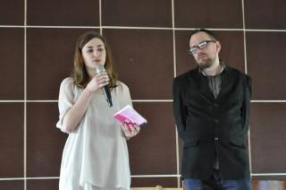 Ведущие программы Ульяна Быченкова и Константин Скоркин