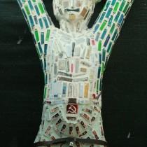 """Памятник Прометею – """"СтарФакел"""", Автор: С.Лиховид, Идея: Р.И.Пэрэц"""""""