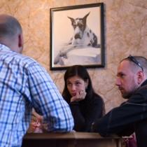 Ярослав Минкин, Ирина Каць и Константин Скоркин обсуждают культурную идентичность Кременчуга