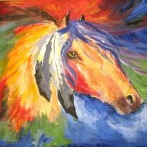 конь стихий